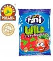 Fraises - Bonbons Sans Gluten et Halal - Sachet de Chucherias 100 gr