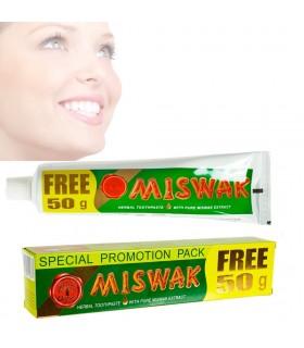 Pasta de dentes natural Miswak (persa Salvador) - 120 + 50 gr grátis