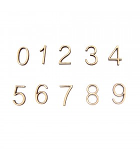 Wood Numbers - Laser Cut - Crafts and Crafts