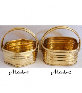 Brass baskets - 2 models