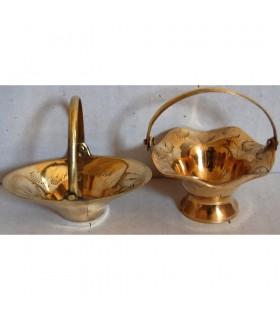 Bronze Körbe - 2 Modelle