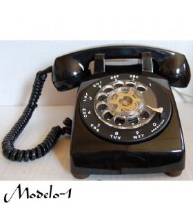 Teléfono Rueda Negro - 2 Modelos