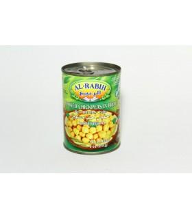 Garbanzo Enlatado - Receita Libanesa 400 gr- Alimentação Saudável