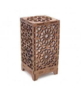 Farol Mini Alhambra - Madera - Led