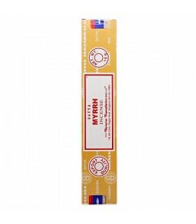Encens Myrrhe - Satya - Grande Qualité - 15 gr