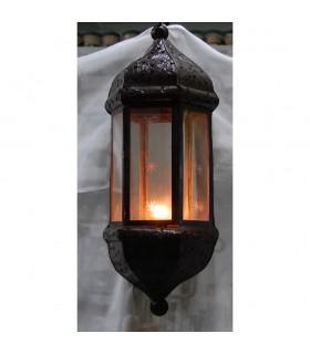 Aplicar a vela de ferro e vidro