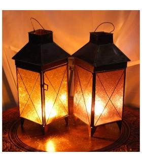 Фонарь свеча дом Китай - 2 цвета