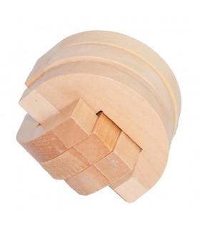 Médio Game Luna-Wood-Engenho - Puzzles - 6 x 6 cm