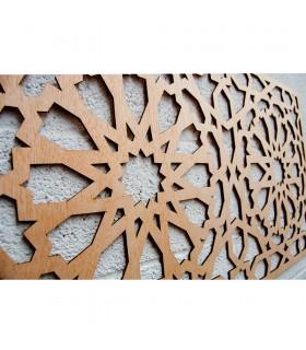 Malha de Madeira - Alhambra Design - 99 x 59 cm