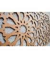 Celosía de Madera - Diseño Alhambra - 100 x 60 cm
