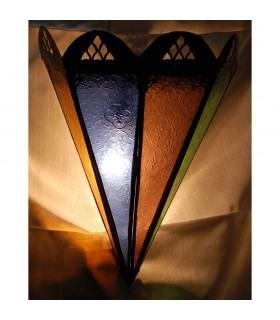 Gelten Dreieck Arabisch - verschiedene Farben - 33 cm