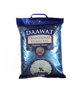 Arroz Basmati Daawat - alta qualidade - 5 kg