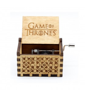 Musical Box of Thrones Game - Vintage Wood