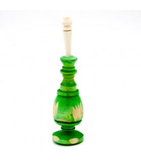 Wooden eye drop holder - Recipient Khol - Morocco