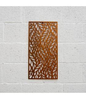 Treillis en bois - Design d'automne - 60 x 30 cm