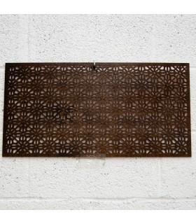 Celosía Madera - Diseño Bahar - 60 x 30 cm