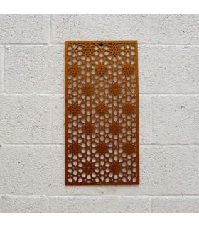 Celosía Madera - Diseño Mekness - 60 x 30 cm