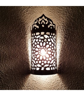 Wall Lamp Arabic Aluminum Wall - Celosia Andalusi - Model CORONA