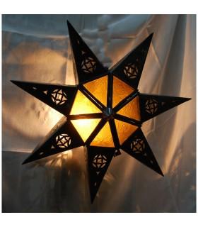Aplique Cristal Estrella - Varios Colores - Diseño Arabe