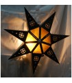 Apply glass star - various colors - design Arabic