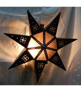 Anwenden von Glasdesign-Star - verschiedene Farben - Arabisch