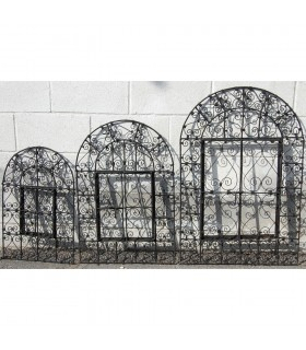 Cadre entre les trois tailles de fenêtre - Forge - miroir