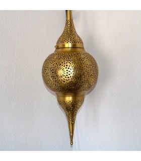 Lámpara Techo Latón Calado - Modelo Dubai - 80 cm
