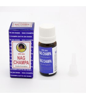 Nag Champa Essential Oil - Burners - 10 ml