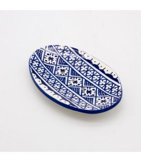 Saboneteira de cerâmica - Berber Design - Modelo Fez - 14 cm
