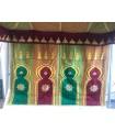 Tela Decorativa Arabe - 180 cm - Decoración Tetería Jaima Restaurante