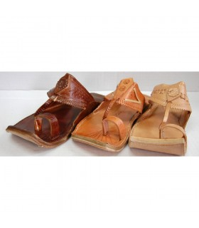 Leather sandal man - various colors - N 40-45