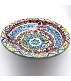 35 cm Fez Plate - Painted Ceramics - Andalusí Frutero