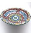35 cm Fez Plate - Painted Ceramics - Andalusí Frutero