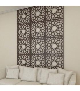 Cabecero Cama - Sofá - 240 x 50 cm - Diseño Estrella Alhambra