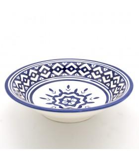Assiette Fez Décorée 19 cm - Céramique Peinte