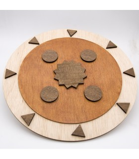 Andalusí Wood Shield - Jouet de loisirs