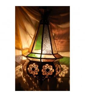 Lámpara Cristal Multicolor Andalusí Bellota - Arabe