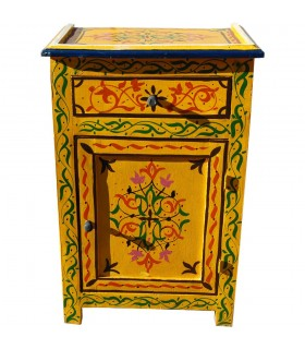 Andalusian night table hand - painted various colors