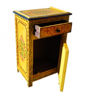 Bedside Table Al Andalus - Hand Painted  - Several Colors