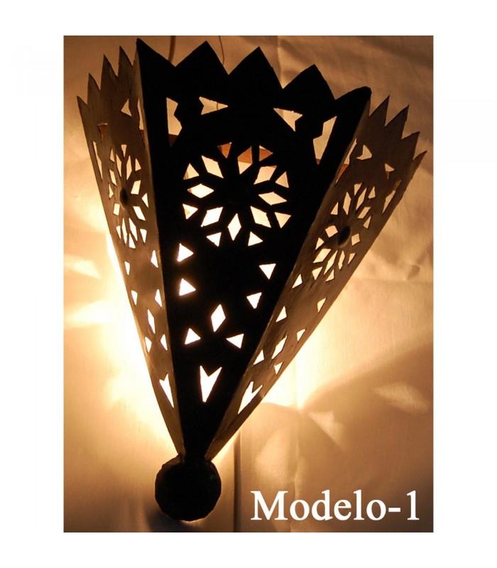Aplique Cono Flor de Hierro Calado Plano - 2 Modelos