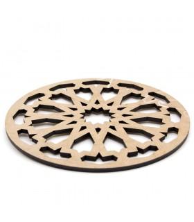 Salvamantel - Posa platos - DM - Corte Láser - Diseño Daurazalaza