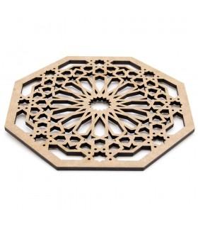 Salvamantel - Posa platos - DM - Corte Láser - Diseño Hassira