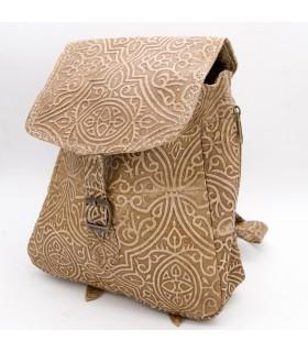 Mochila de Cuero Pequeña - Diseños Moriscos - Modelo IBIL