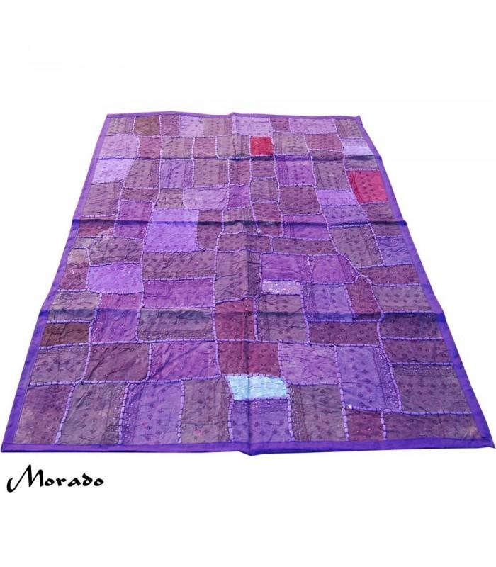 Tapete pathwork 145 x 95 cm artesanal varios colores for Tapetes orientales