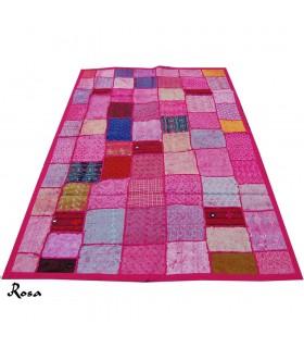 Stuoia Pathwork - 145 x 95 cm - artigiano - vari colori
