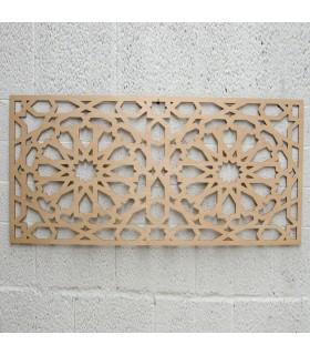 Celosia Árabe 100cm x 60cm - Diseño Alhambra