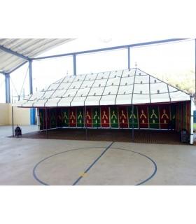 Jaima Arabe 10 x 5 m - PVC - Ideal Ferias Medievales Mercados