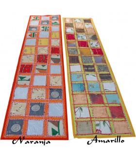 Tapete Bordados Dorados Largo - 145 x 48 cm - Varios Colores