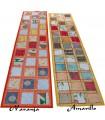 Long gilt-edged tapete - 145 x 48 cm - Várias Cores
