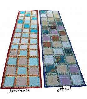 Mat Gold gestickt lange - 145 x 48 cm - verschiedene Farben